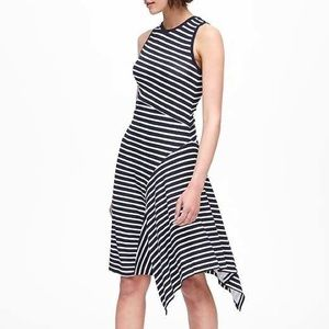 Banana Republic Work Professional Striped Dress 10